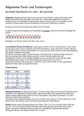 poker regeln texas holdem kartenwerte pdf